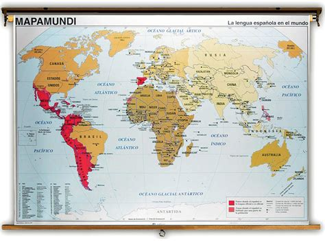 speaking countries map speaking countries of the world map physical