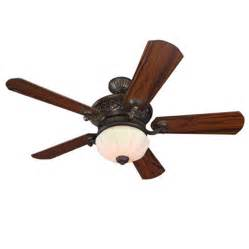 Harbor Ceiling Fans Remote Shop Harbor Platinum Wakefield 52 In Guilded
