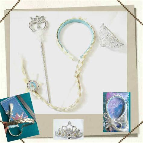 Aksesoris Frozen 3 In 1 Rambut Tongkat Mahkota jual accessories set frozen elsa bando rambut kepang