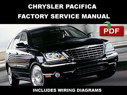 online car repair manuals free 2004 chrysler pacifica instrument cluster chrysler pacifica 2004 2005 2006 2007 2008 factory oem service repair fsm manual car truck