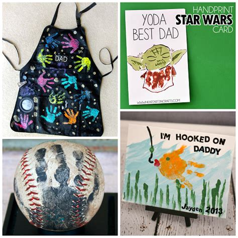 kid craft gifts s day handprint gift ideas from crafty morning
