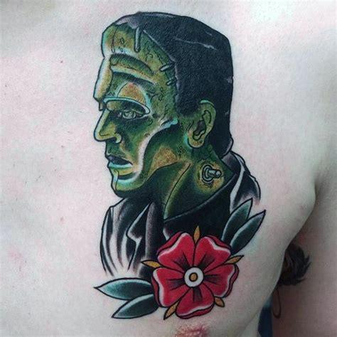 new school frankenstein tattoo top 80 best frankenstein tattoos for men monster design