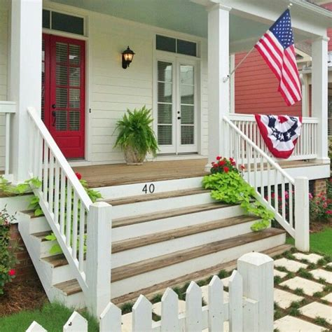 big front porch big wide front porch steps for the home pinterest