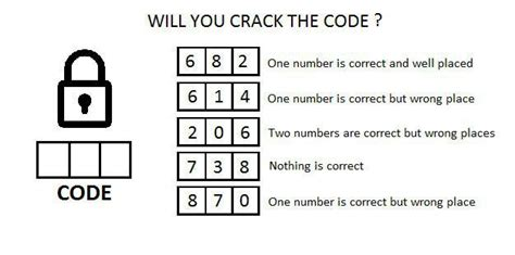 Critical thinking puzzles will you crack the code