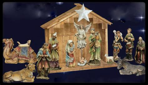 27 quot nativity color resin pieces sold separately
