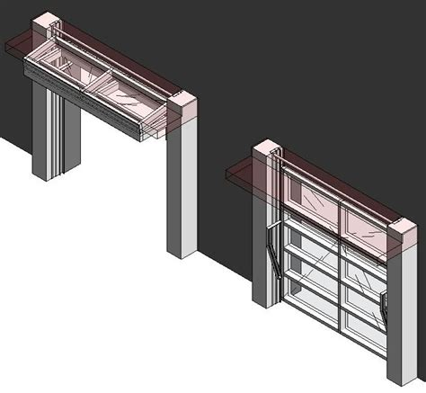 Renlita Overhead Doors Bim Objects Families