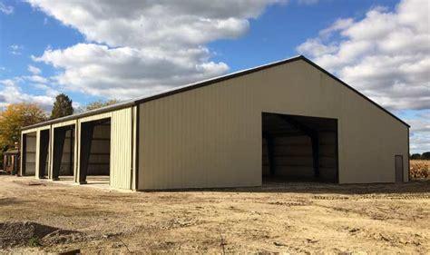 Garage Organization Ontario Steel Garage Storage Building In La Salle Ontario