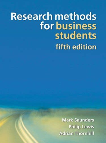 Business Research Methods Pdf For Mba by Ebook Your Research Project A Step By Step Guide For The
