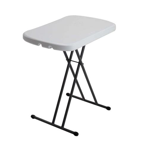 White Folding Table And Chairs Lifetime White Granite Folding Table 80251 The Home Depot