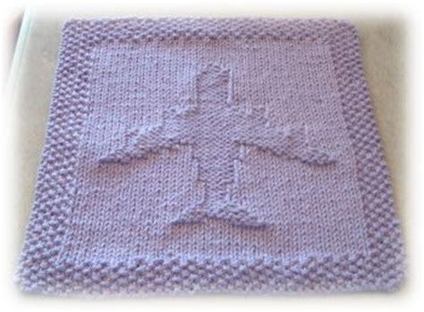 airplane knitting pattern airplane washcloth