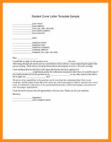 Cover Letter Student Internship by 8 Sle Intern Cover Letter Actor Resumed