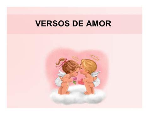 versos de amor versos de amor