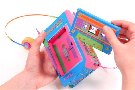 How To Make Things Out Of Construction Paper - occasional genius cool things retro electronics made out