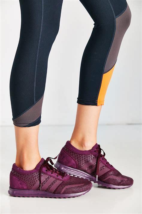 Dress Adidas Los lyst adidas originals los angeles snake sneaker in purple