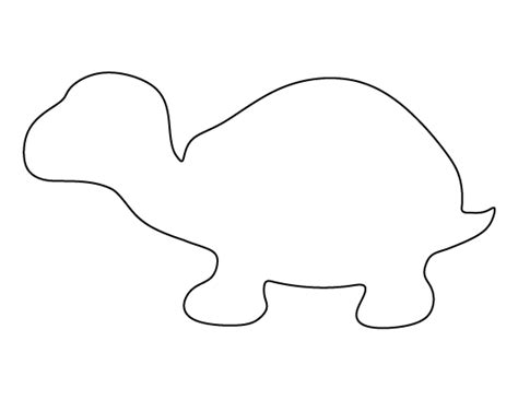 turtle pattern use the printable outline for crafts