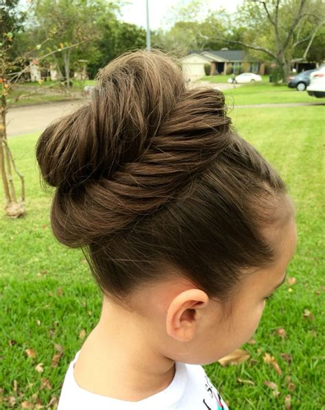 tutorial makeup natural ke kus fanned fishtail bun learn do teach hairstyles
