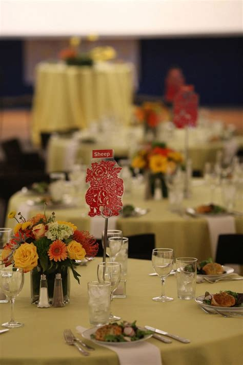 asian wedding table centerpieces event spotlight an asian italian wedding fusion bg events and catering