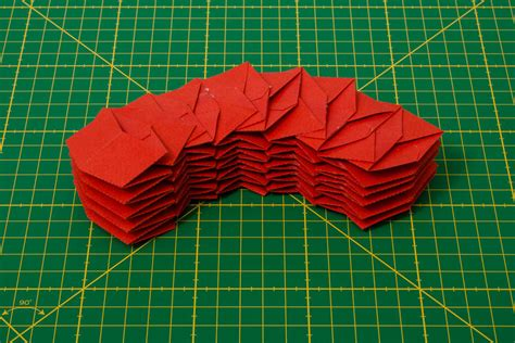 How To Make Paper Stronger - this freakishly strong origami can make pop up bridges and