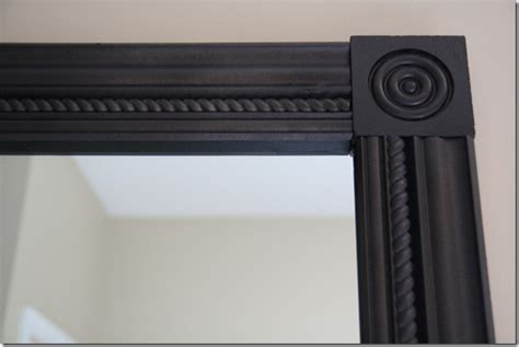 frame out your large bathroom mirrors with molding for a crafty again