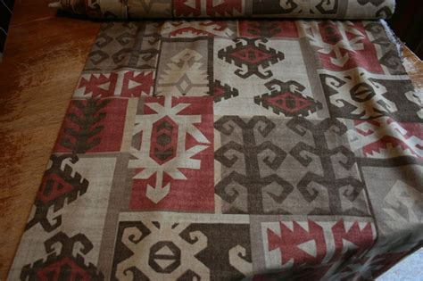 aztec print upholstery fabric richloom fabric platinum collection drapery upholstery