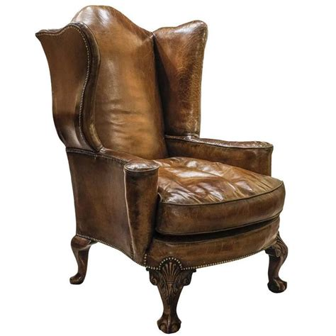 Large Leather Armchair by Large Leather Armchair At 1stdibs