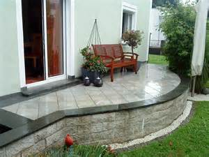 terrasse bauen stein terrasse stein gardinen 2017