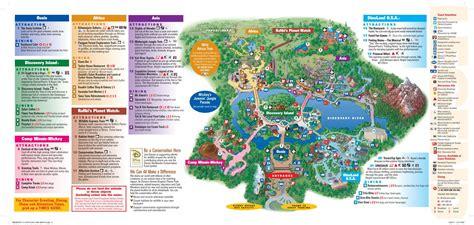 printable map of animal kingdom orlando animal kingdom map disney ideas pinterest animal