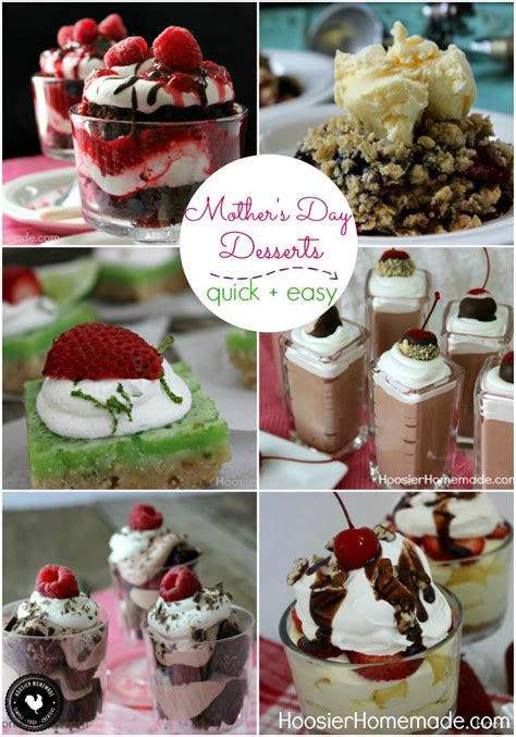 mother s day desserts hoosier homemade