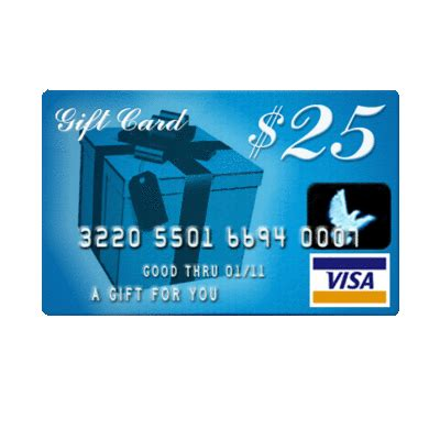 Visa Gift Card Support - a gal needs a flash giveaway for 25 visa gift card