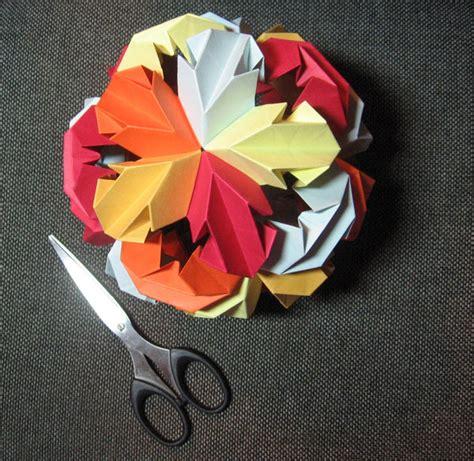 Origami Icosahedron - truncated icosahedron origami images