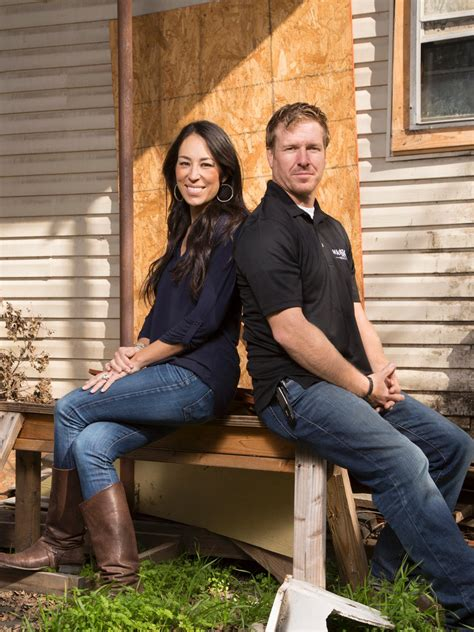 chip and joanna gaines from fixer upper our story magnolia photos hgtv