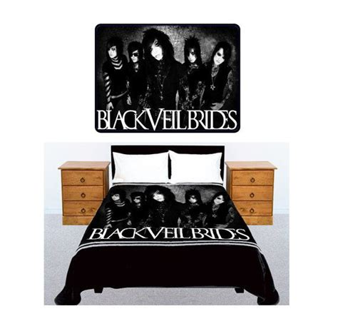 black veil brides american rock band bedding large size