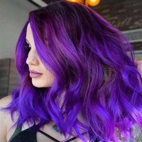 purple brown hair color how to dye my brown hair to purple quora