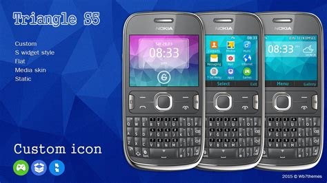 themes of nokia asha 201 triangle s5 theme 320x240 asha 210 205 200 201 302 c3 00 x2 01