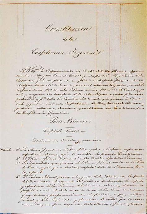 ley 22009 de 11 de mayo del presidente y del gobierno 1 176 de mayo de 1853 sanci 243 n de la constituci 243 n nacional en