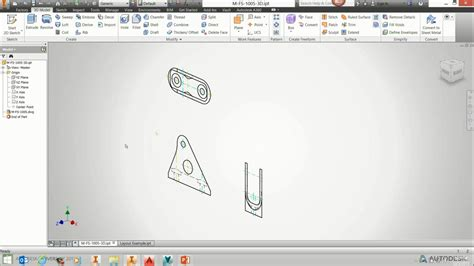 Auto Desk Inventor by How To Work With Autocad Underlays In Inventor