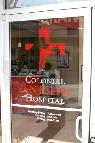 colonial animal hospital in springfield va 22150