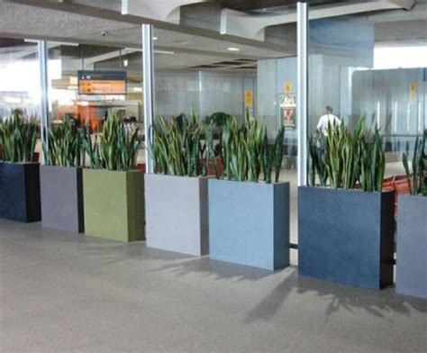Barrier Planters by Barrier Trough Outdoor Planters Livingreen Design Esi External Works