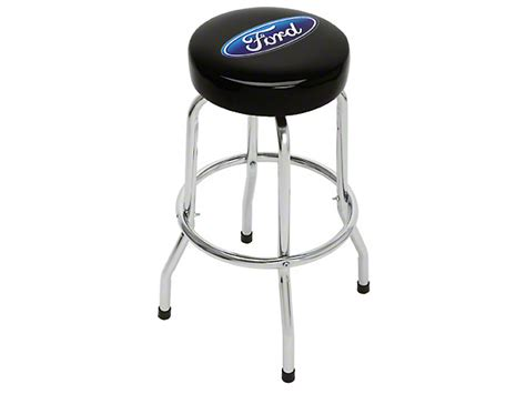 Ford Racing Bar Stool by Mustang Ford Oval Standard Bar Stool Free Shipping