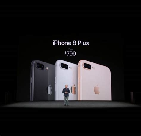 specifications and features of iphone 8 plus