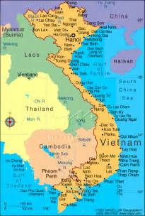 Vietnam On World Map by Maps World Map Vietnam