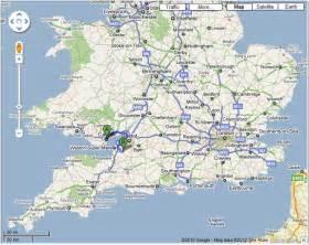 map of southern southern uk map