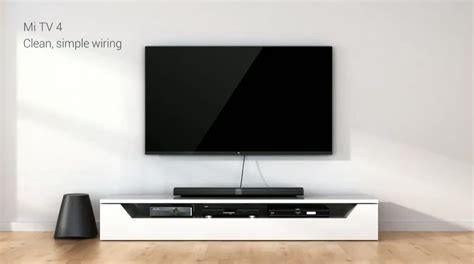 Tv Xiaomi xiaomi mi tv 4 is 4 9mm thick and has ai content suggestions the verge