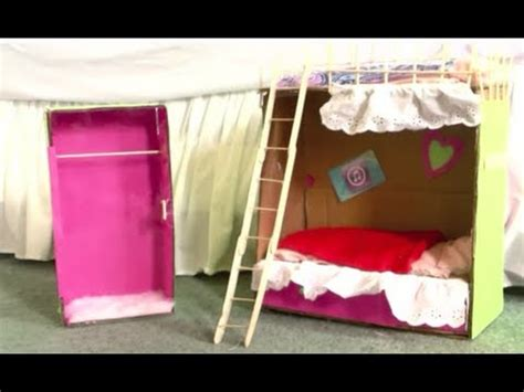 how do you make a bed how to make doll bunk beds youtube