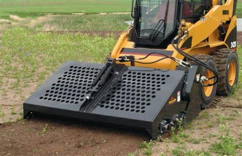 Erskine Landscape Rake Iowa Farm Equipment Erskine Skid Steer Landscape Rake
