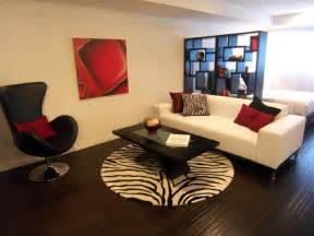 new red black living room concept ideas new home scenery