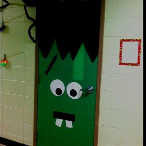 ideas frankenstein frankenstein classroom door decoration