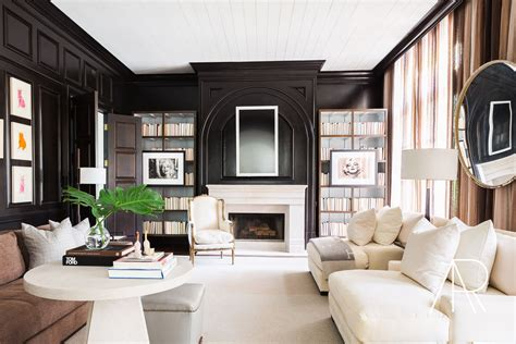 beautiful nashville estate featured  elle decor black