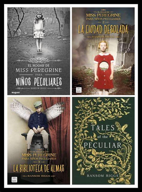 libro la biblioteca de almas se completa la saga miss peregrine en castellano