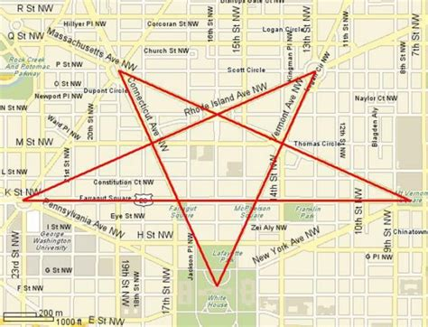 washington dc road map pentagram are the streets of washington d c supposed to form a